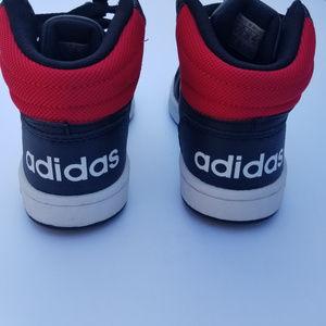 Kids 12k 12 Adidas Mid Hoops Shoes Sneakers High